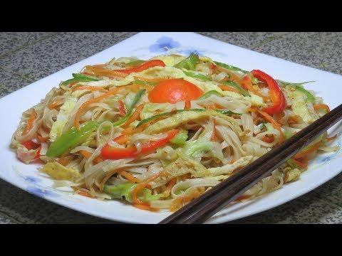 ডিমের চাউমি্ন নুডুলস। Egg Chow Mein Noodles | Chinese Noodles |