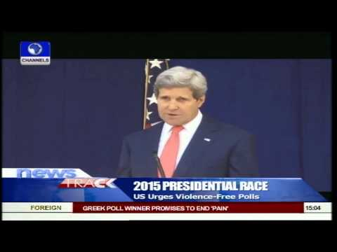 2015 Election: US Urges Violence Free Polls In Nigeria