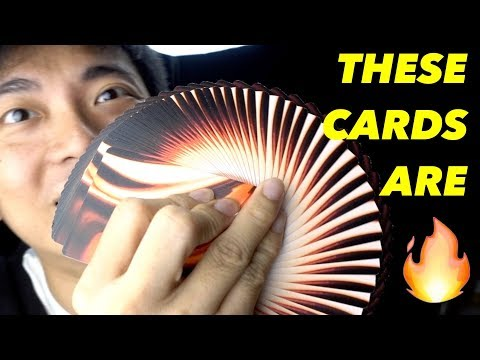 THESE CARDS ARE 🔥🔥🔥 (Canvas Playing Cards Unboxing Review Collection)