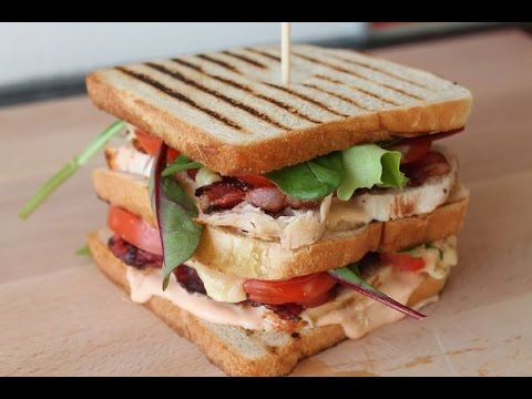 Club Sandwich (Rezept) || Club Sandwich (Recipe) || [ENG SUBS]