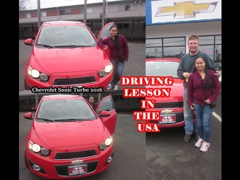 FILIPINA DRIVING LESSON IN THE USA FOR THE FIRST TIME with my husband as my instructor