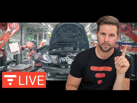 50% Profit on Tesla Model 3 Possible? Teardown of Model 3 Points to YES! [live]
