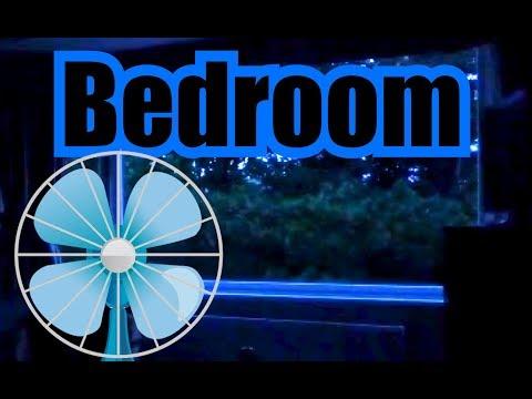 Bedroom Fan Noise w/ Dark Screen 10 Hours of Fan White Noise for Sleeping Calming Sounds