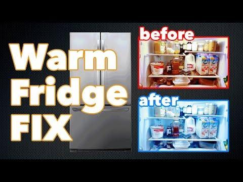 How to Fix a Fridge or Freezer That Won't Cool