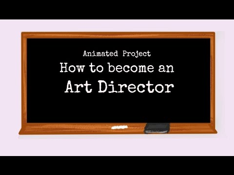 How To Become an Art Director | Animated