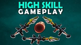 TRIPLE ROCKET VERY TOXIC HIGH SKILL GAMEPLAY...