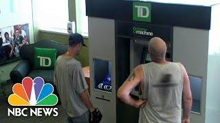 Td Bank Atm Surprises Customers Nbc News