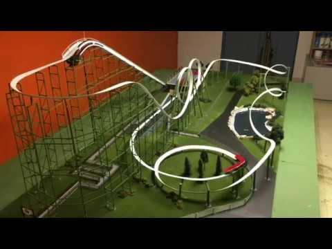 Python Model Roller Coaster