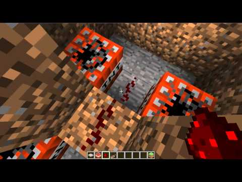 Minecraft Traps #8 - Bouncing Betty