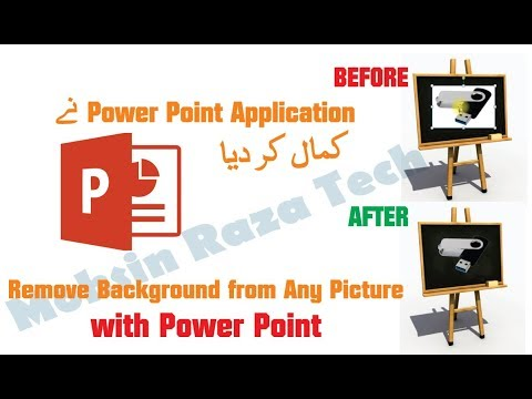 How to Remove the Background of a Picture in Powerpoint 2007