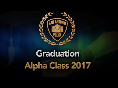 SAPD Alpha Class Graduation, Sept. 1, 2017 - 1