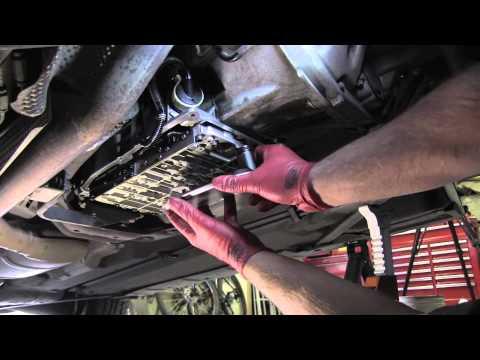 Mercedes transmission fluid and filter change