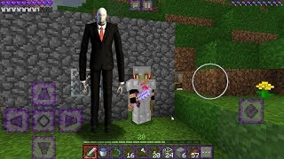 Followed by SLENDERMAN in Minecraft PE! how to spawn
