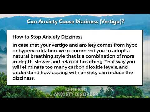 Can Anxiety Cause Dizziness (Vertigo)?