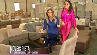 Móveis Pietá na Mega TV
