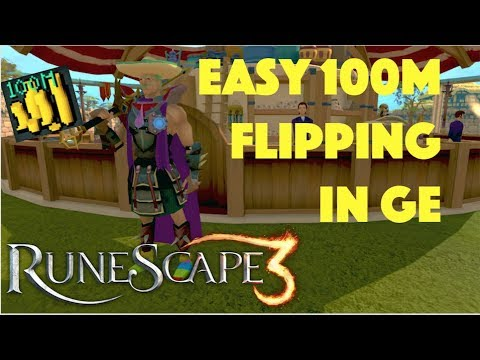 EASY Way I Made 100M Flipping Items in the Grand Exchange, Runescape 3