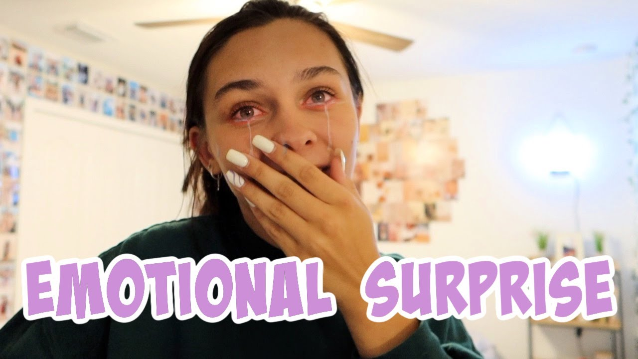 THE SURPRISE OF A LIFETIME! VERY EMOTIONAL VIDEO! EMMA AND ELLIE