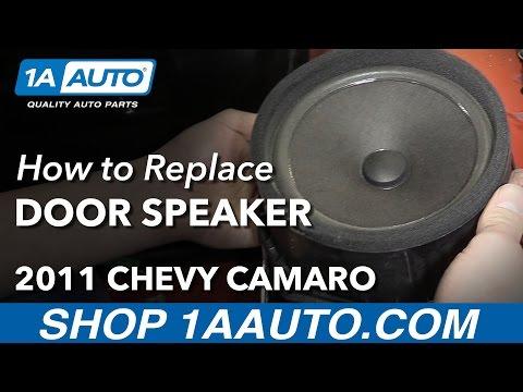 How to Install Replace Door Speaker 2011 Chevy Camaro