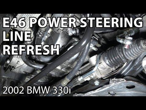 BMW E46 Power Steering Line Refresh Kit
