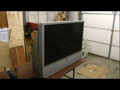 DLP rear projection TV part 1