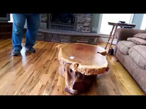 Living Estate Sale Preview - Hydesville - Part 6 Burl Table - Royal Scotsman Auction