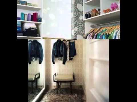Dressing room wallpaper design ideas