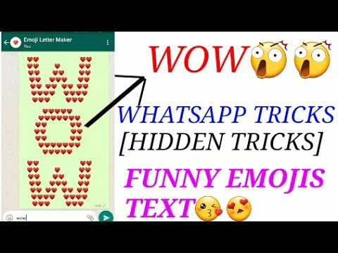Whatsapp Tricks 2017-How to Text with Funny Emojis?