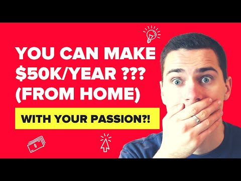 Hobbies that Make Money Online - How to Earn $50k/Year from Home