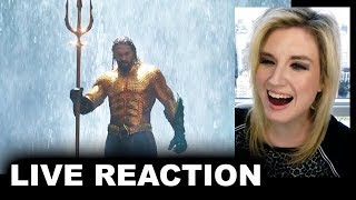 Aquaman Extended Trailer 2 REACTION