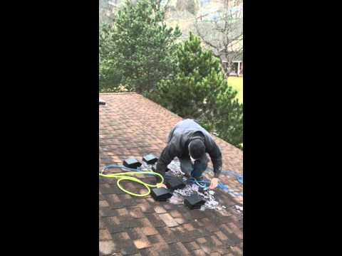 Rooftop Dryer Vent Cleaning