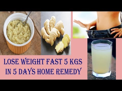 Fat Cutter Drink Lose weight FAST 5 Kgs in 5 Days DIY Weight Loss Drink Home Remedy