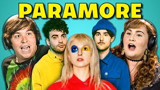 ADULTS REACT TO PARAMORE