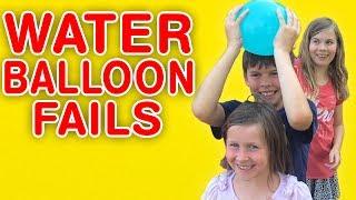 Water Balloon Fails | Slow Motion Water Balloon Compilation