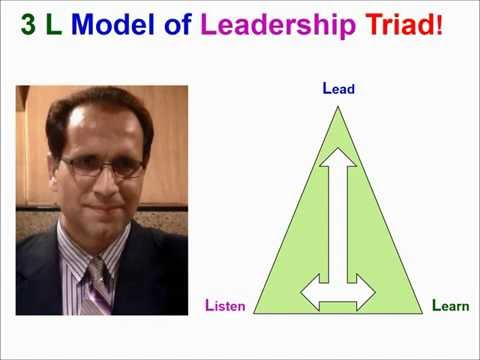 Management Philosophies: Change Using the 3L Model and Role Modeling  - B. Mujtaba  - بهاوالدین