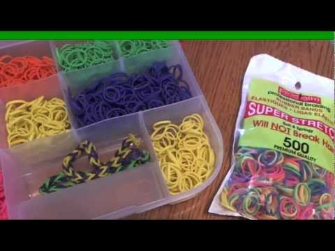 Innovention #4 (hair rubber band bracelets & rings) by Zacktivities