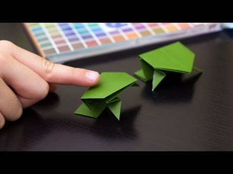How To Fold An Origami Frog