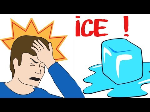 How To Stop A Migraine With ICE immediately