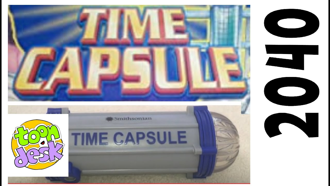 What Did I Put Inside my 2040 Time Capsule??