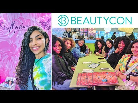 Hanging Out With YouTubers At BeautyCon! ⭐ (with SheaMoisture)