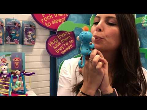 Toy Fair 2017: WowWee Fingerlings Baby Monkey
