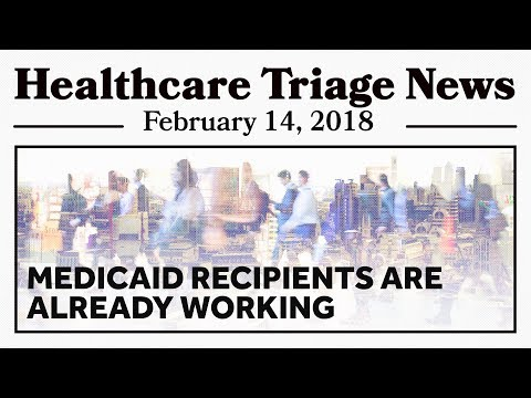 But, But, Medicaid Recipients Are Already Working