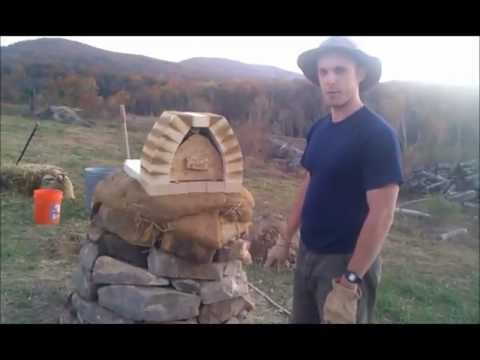 Cob Oven Building - Day 5