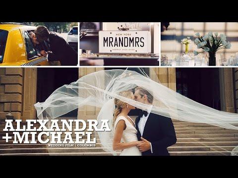 Alexandra and Michael | Wedding Video | Columbus Ohio