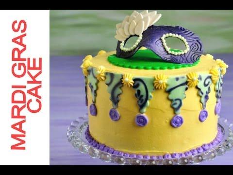 How To Decorate Mardi Gras Cake