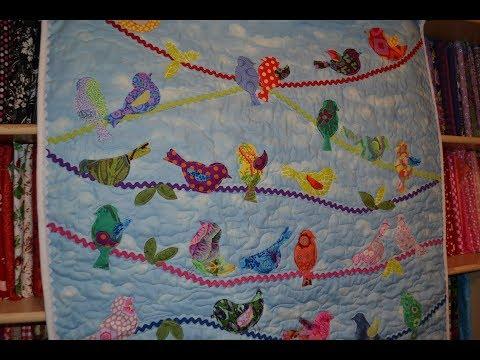 EPISODE 78 ~ Baby Quilt ~Bird on Wire Quilt