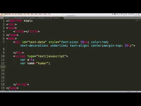 Datatypes | client side scripting using javascript | New Tutorials 2018 | Part 2
