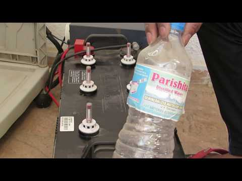 How to fill Distilled Water in inverter Battery | UPS Yourselves