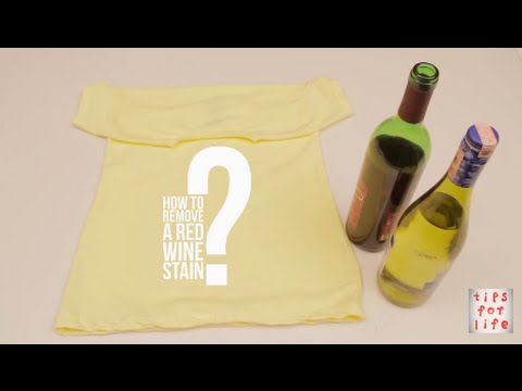 How to remove a red wine stain I DIY
