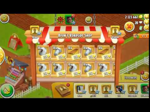 HAY DAY TOOLS GIVE AWAY, July 2017