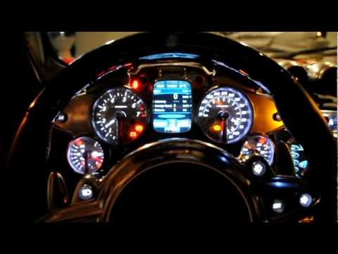 Pagani Huayra in Singapore changing it's dial colours!